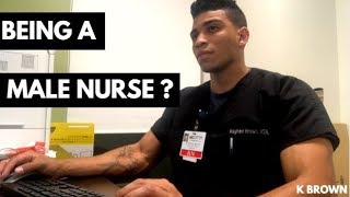 Being A Male Nurse?