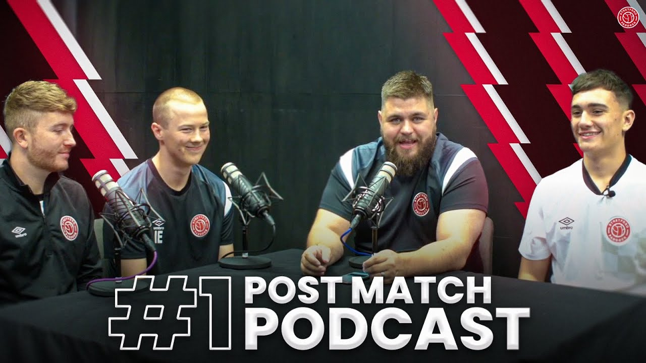 New Beginnings!   Post-Match Podcast   Stretford Paddock FC