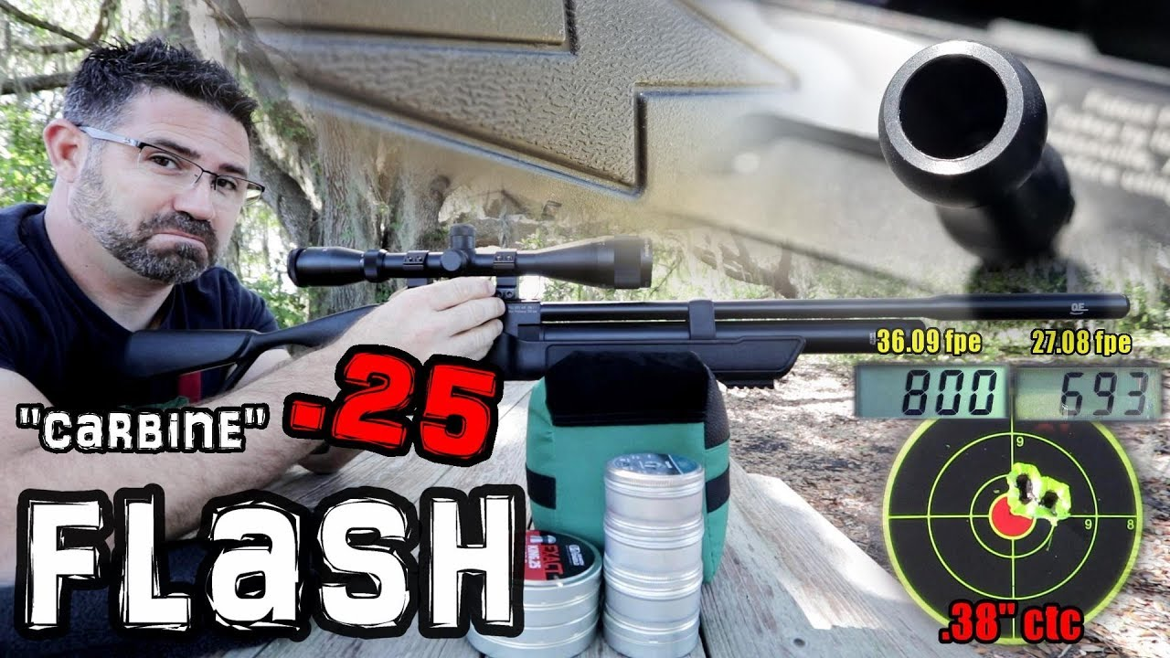 Hatsan Flash Carbine QE  25 - FULL REVIEW (RDW)