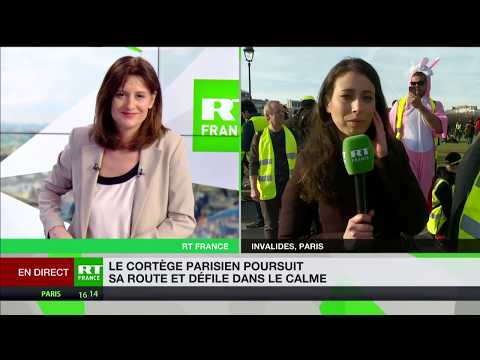 Gilet jaune : «On essaie toujours de minimiser le nombre de manifestants pour nous discréditer»
