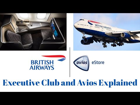 British Airways Executive club and Avios Points Explained