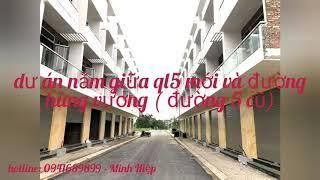nhà liền kề dự án khu đô thị Him Lam Hùng Vương Hải Phòng giá chỉ từ: 1,5 tỷ