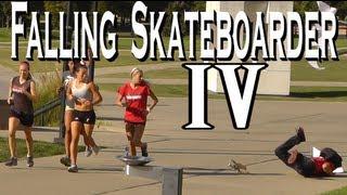 Public Pranks: The Falling Skateboarder 4!