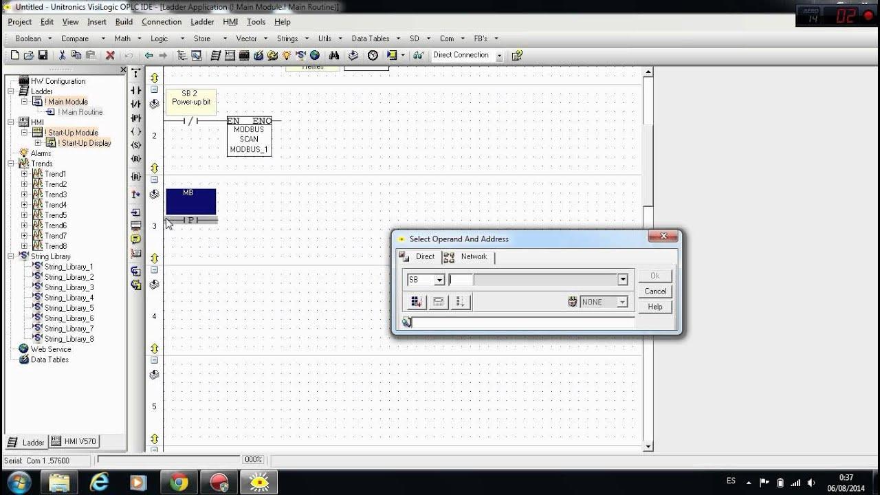 Unitronics visilogic tutorial