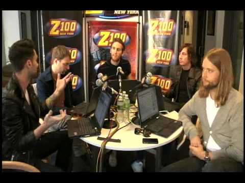 Maroon 5 Z100 Interview-FULL VIDEO