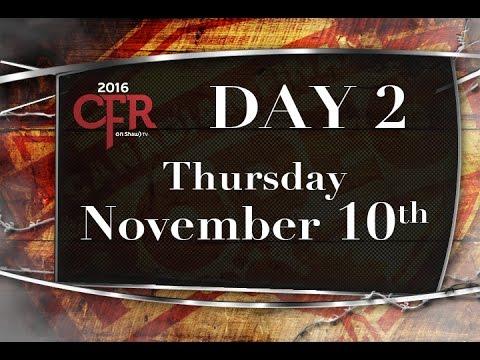 CFR DAY 2 Thur Nov 10