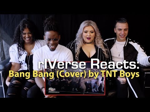 rIVerse Reacts: Bang Bang (Cover) by TNT Boys - Live on 'Your Face Sounds Familiar' Reaction