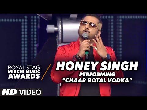 "Honey Singh Rocking Performance on ""Chaar Botal Vodka"" At The Mirchi Music Awards 2016"
