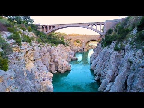 Le Pont Du Diable // Hérault // Drone Mavic Pro 4k