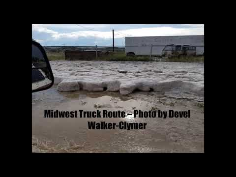 Midwest and Edgerton Hail and Flooding - June 23, 2018