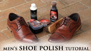 Gambar cover How To Polish Your Dress Shoes   Leather Shoe Shine Tutorial