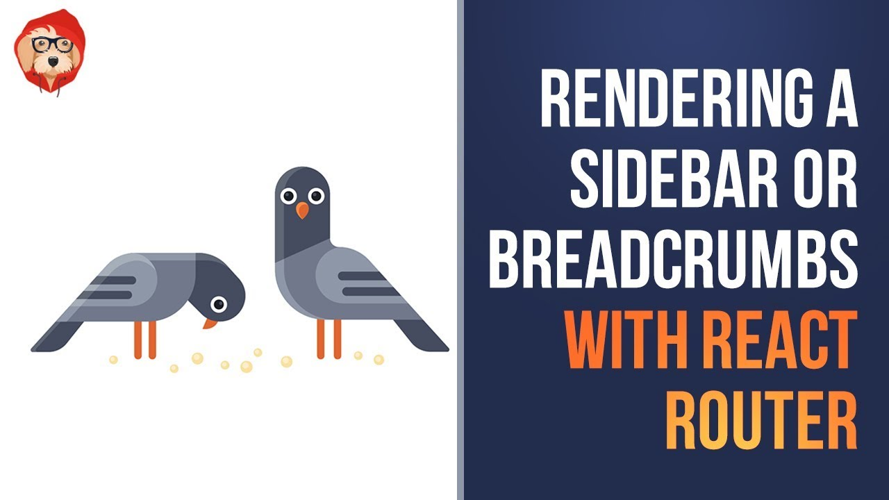 Rendering a Sidebar or Breadcrumbs with React Router v4