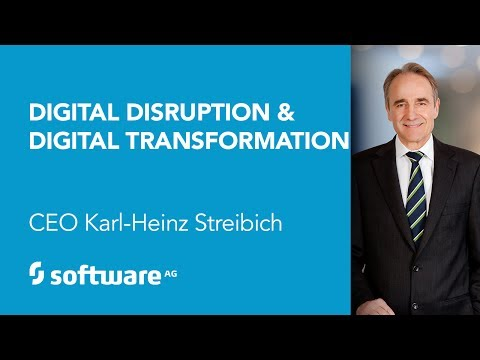 Keynote: Digital Disruption. Digital Transformation, CEO Karl-Heinz Streibich