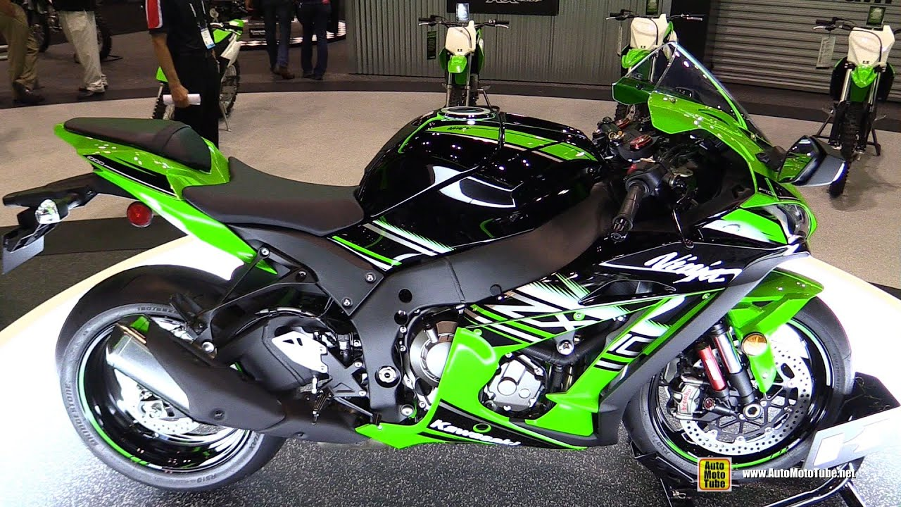 2016 kawasaki ninja zx10r krt edition - walkaround - debut at 2015
