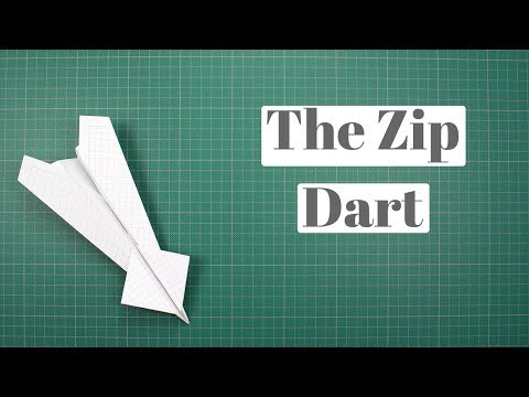 How to make The Zip Dart Paper Airplane by yourself - One of the best Paper Airplane