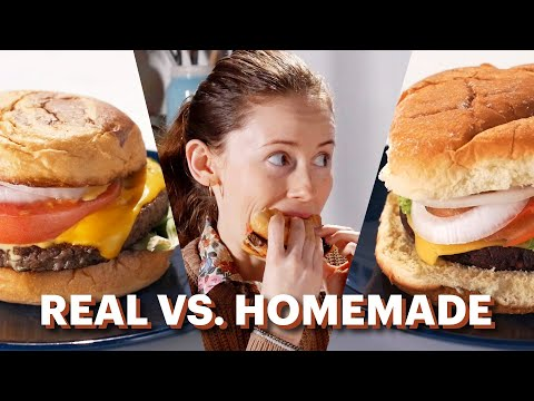 Homemade Vs. Real
