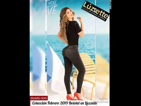 Download Luzzette jeans levantacola y mas Coleccion Bviolet Febrero 2019