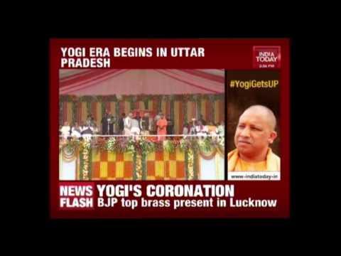 Exclusive : Oath Taking Ceremony Of Uttar Pradesh Cabinet