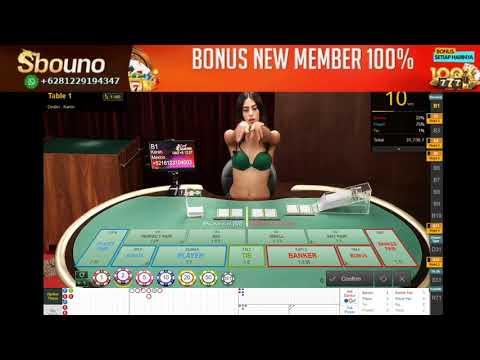 Sbouno - Live Casino Sexy Baccarat Judi Online 2020