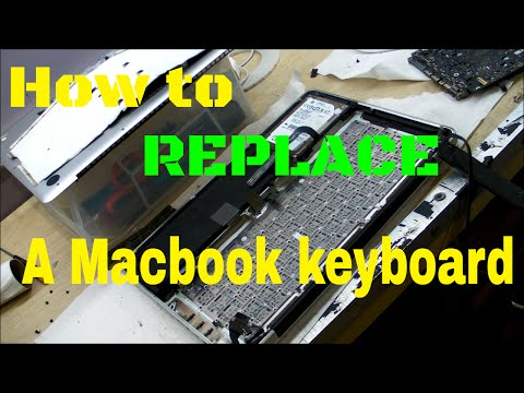 Unibody Macbook Pro Keyboard Replacement - Liquid Spill Damage Repair by Rossmann Group