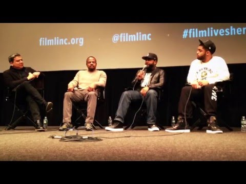 Straight Outta Compton Q&A @ the Film Society of Lincoln Center - Walter Reade Theater