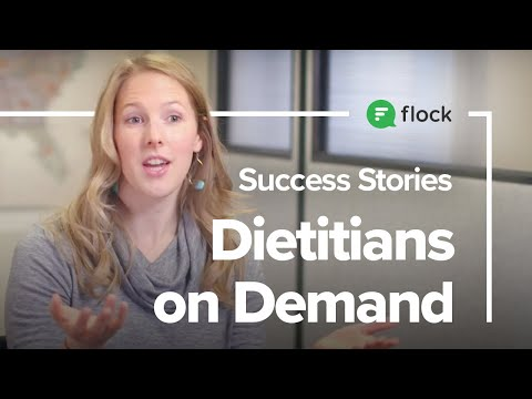 Flock's Success Stories: Dietitians on Demand