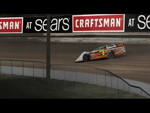 Dirt Pro Late Model at Volusia Speedway Park on iRacing