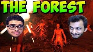 بث مباشرالنجاه في الغابه مع رفركس وسلووم!! The Forest