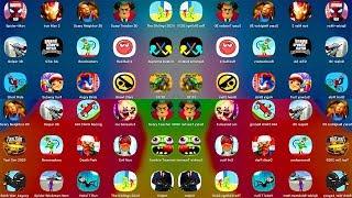 SpiderMan,ScaryTeacher,ScaryNeighbor,Bowmasters,GTASA,StickWar,SubwaySurf,
