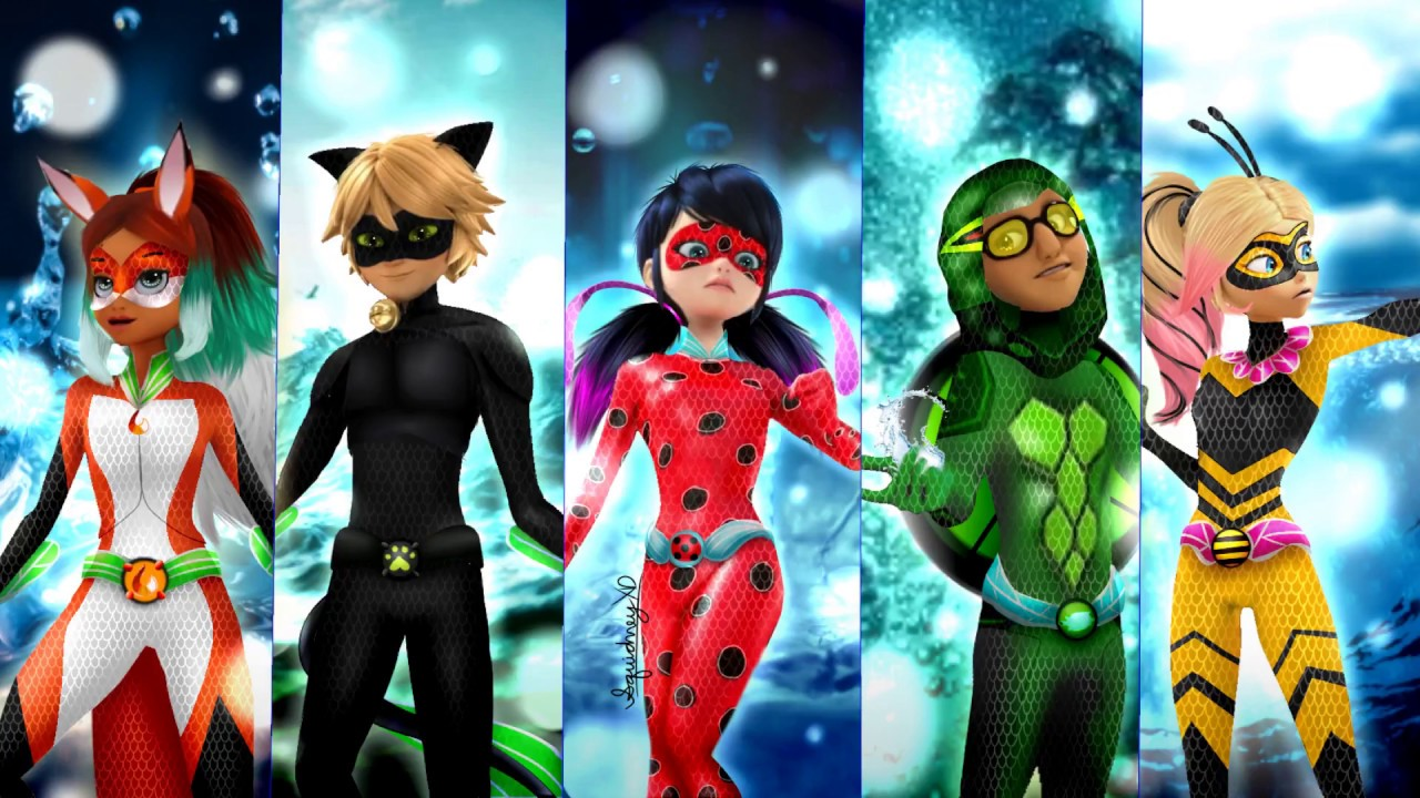 Miraculous Ladybug: Speededit: Aqua Heroes!
