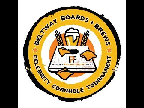 Matt Stover on Players Philanthropy Fund's Beltway Boards + Brews Fundraiser