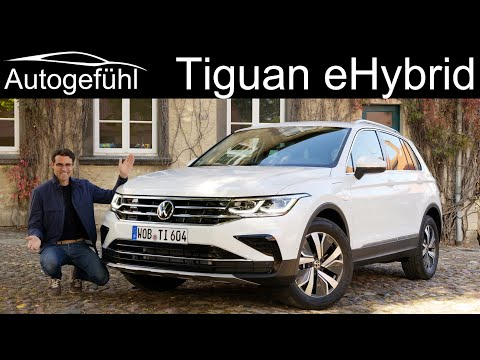 VW Tiguan eHybrid FULL REVIEW new Plugin-Hybrid with GTE Boost Tiguan Facelift 2021 - Autogefühl