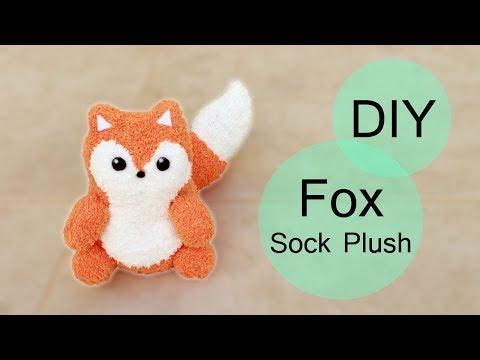 DIY Fox Sock Plush!   Step-by-Step Tutorial