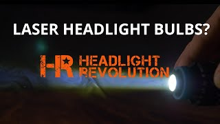 Laser PNP Headlight Bulbs are Here! Do they work though?  |  Headlight Revolution