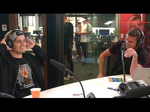 Dom tells the worst dad joke during Martin Garrix interview