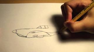 Richdraw10: drawing a supermarine spitfire 1