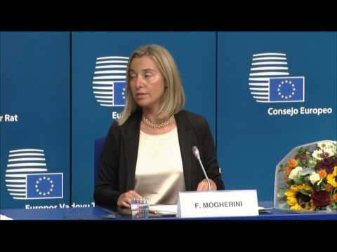 Special meeting of the European Council - Opening remarks by Federica MOGHERINI