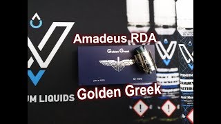 [Greek] Amadeus RDA by Golden Greek | Unboxing & Review