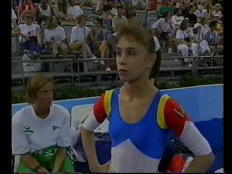 1992 Olympics - Gymnastics Event Finals Part 1