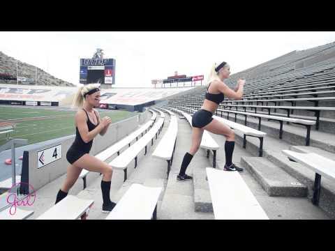 Utep Stadium Train with Fit Girls