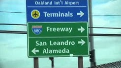 Oakland International Airport (OAK) -- Finding Your Way to the Avis Counter