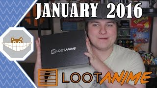 Loot Anime ENCHANT Unboxing (December 2015)