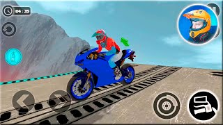 Impossible Motor Bike Tracks 3D #Dirt MotorCycle Racer Game #Bike Games