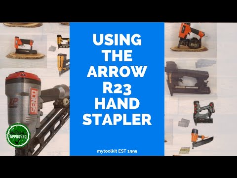 Lining A Coffin With The R23 Hand Stapler vol 1