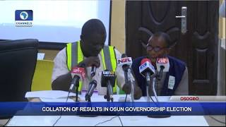 Collation Of Results In Osun Governorship Election Pt.2  Osun Decides 