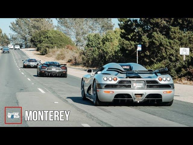 Monterey Car Week POVlog [Hypercar Overload!!]