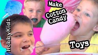 BIGGEST Cotton Candy SURPRISES! Meet HobbyRose Super Heroes Bubbles N Bugs HobbyKidsTV
