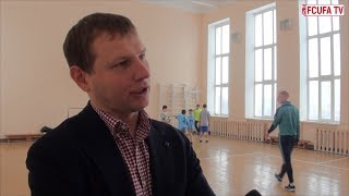 Футбольный клуб «Уфа» посетил Детский дом №1