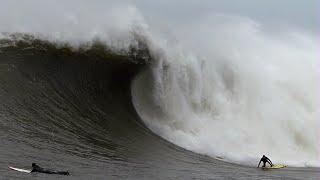 Big Wave Surfing Massive Mavericks - Dec. 20, 2014 CRAZY!