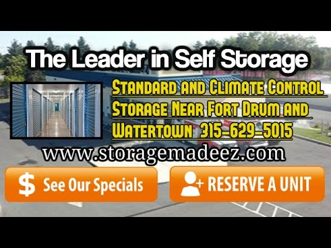 Self Storage Made EZ Free First Month Special Fort Drum  sc 1 st  YouTube & Self Storage Made EZ Free First Month Special Fort Drum - YouTube